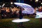 LEDshow artiest hulahoop optreden wageningen